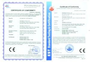 MT S140 CE certifikati