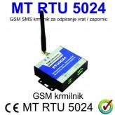 GSM SMS krmilnik za daljinsko odpiranje električnih vrat