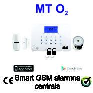 GSM alarmna centrala MT O2