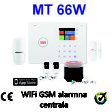 WiFi GSM alarmni sistem MT 66W
