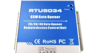 GSM SMS krmilnik za odpiranje električnih vrat MT RTU 5034